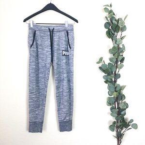 •Pink Sweatpants Size Small Gray